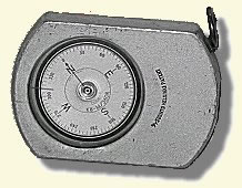 Photograph of a compass.