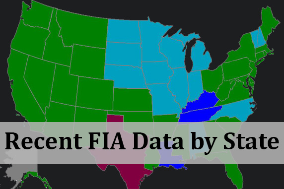 Recent FIA Data by State